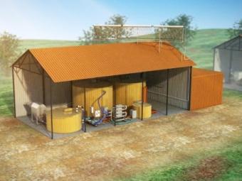 Przyzagrodowa biogazownia rolnicza