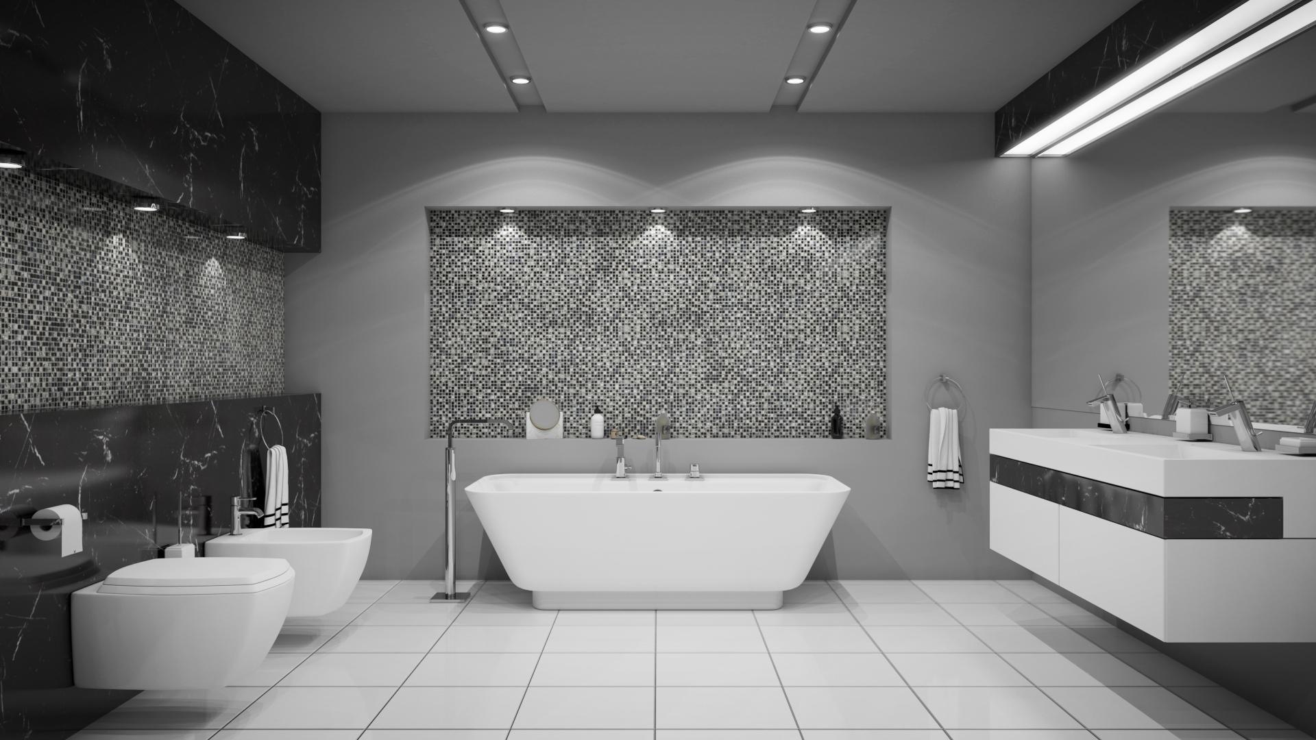 Łazienka Wizualizacja 3D
