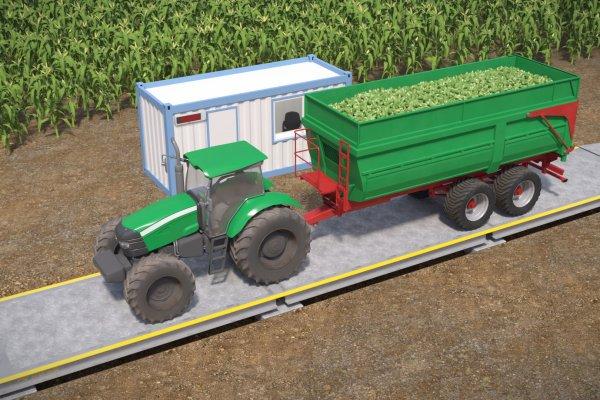 Waga Najazdowa Traktor