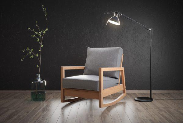 Fotel Wizualizacja 3D
