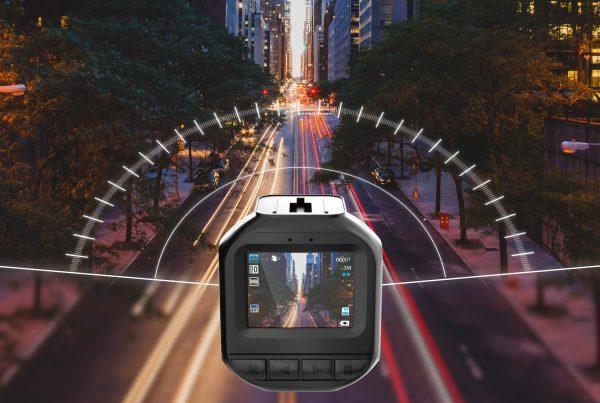 Kamera samochodowa render produktu