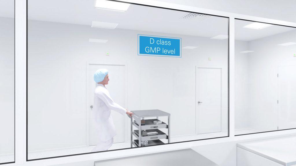 Animacja 3D Clean Room