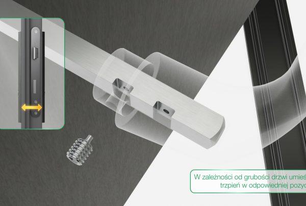 Animacja 3D Instrukcja montażu Klamka